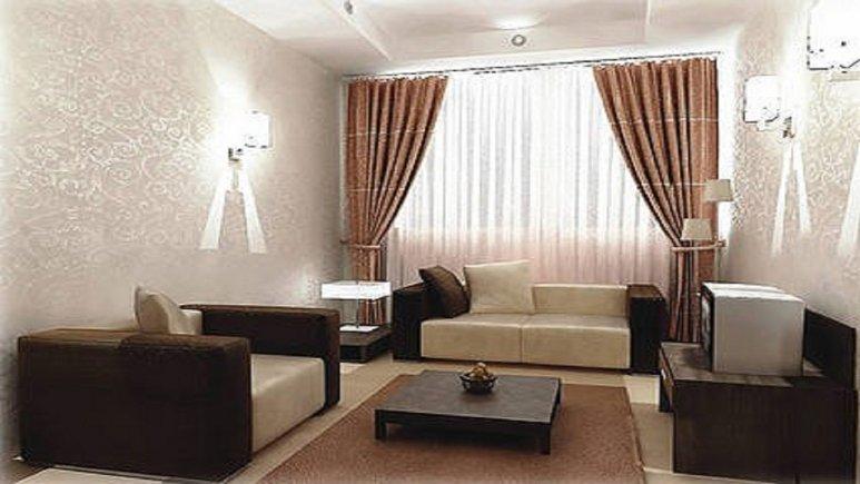 نمای درون اتاق های هتل پارسیان آبادان