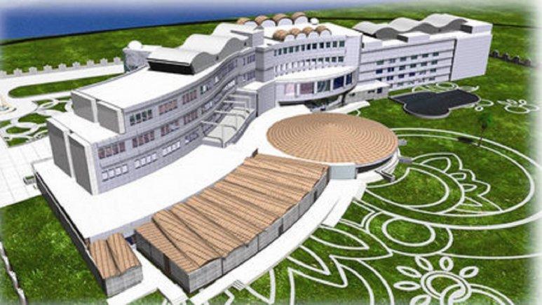 نمای سه بعدی هتل پارسیان آبادان