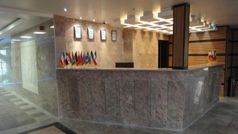 بخش رزرواسیون هتل آپارتمان پاسارگاد بوشهر