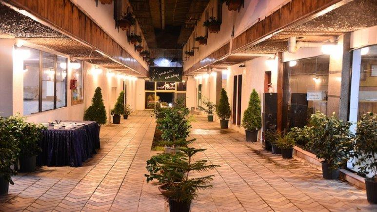 لابی زیبای هتل نارین چالوس