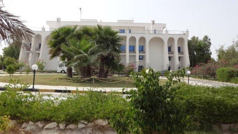 فضای سبز هتل آفتاب شرق