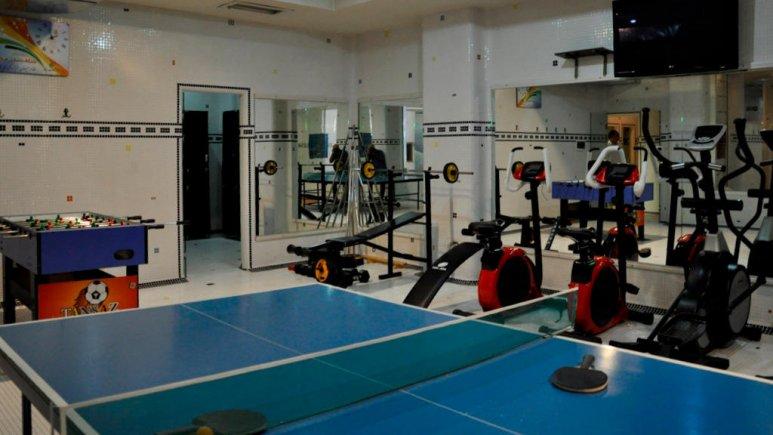 هتل آساره تهران سالن ورزشی 1