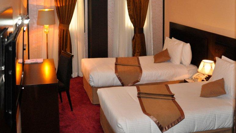 هتل آساره تهران اتاق دو تخته تویین 1