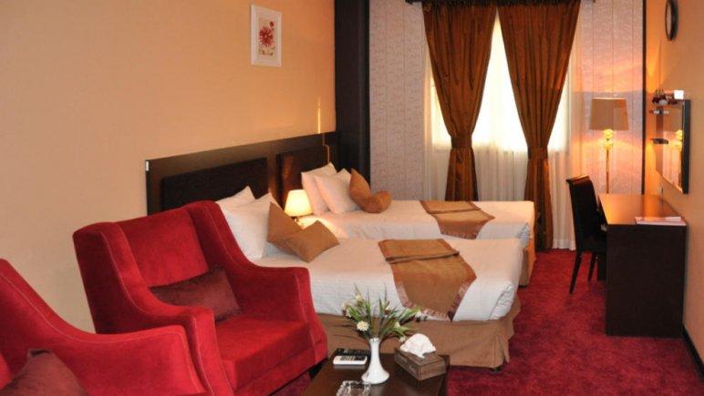 هتل آساره تهران اتاق دو تخته تویین 2