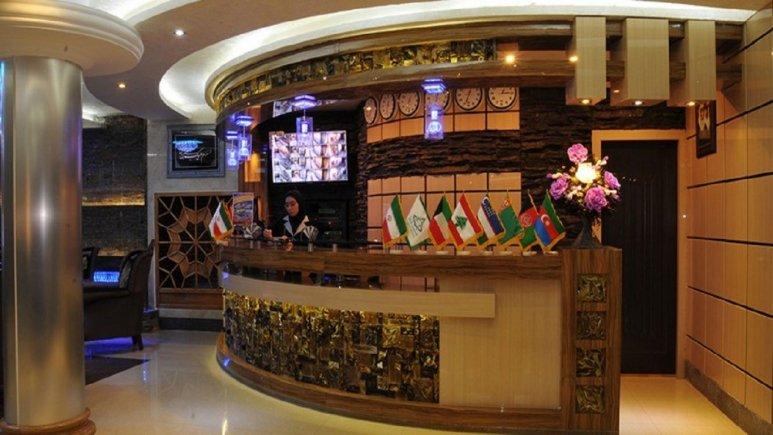 لابی هتل شارستان مشهد