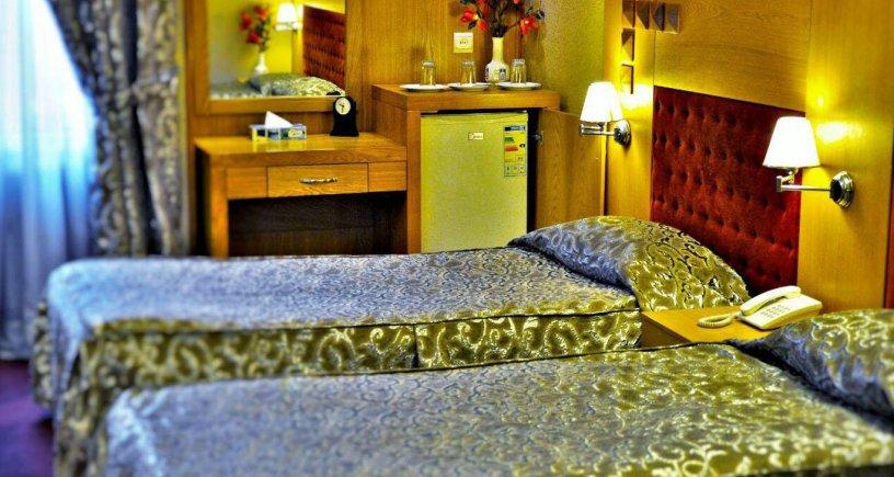 هتل مدائن مشهد اتاق دو تخته تویین 2