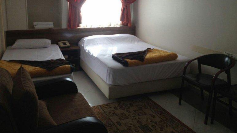 اتاق هتل رضا