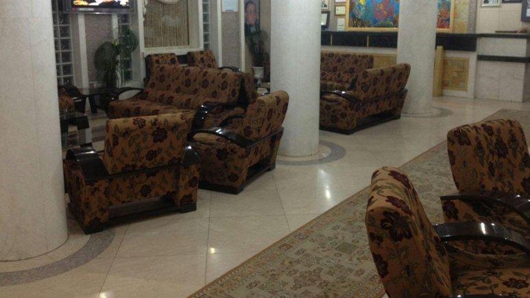 لابی هتل رضا