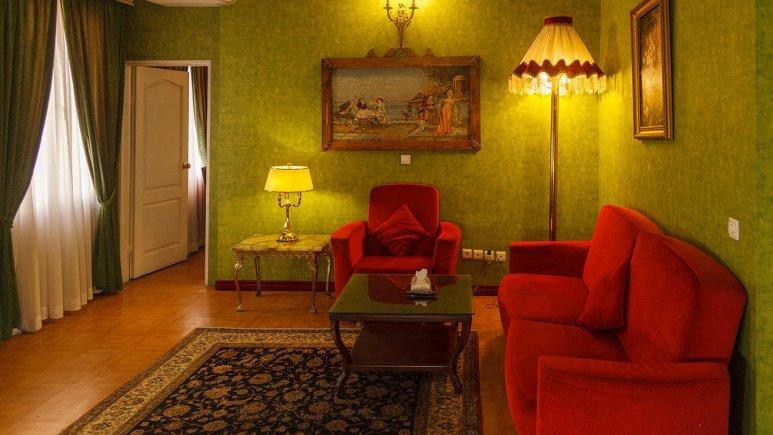 هتل برج سفید تهران فضای داخلی سوئیت ها 7