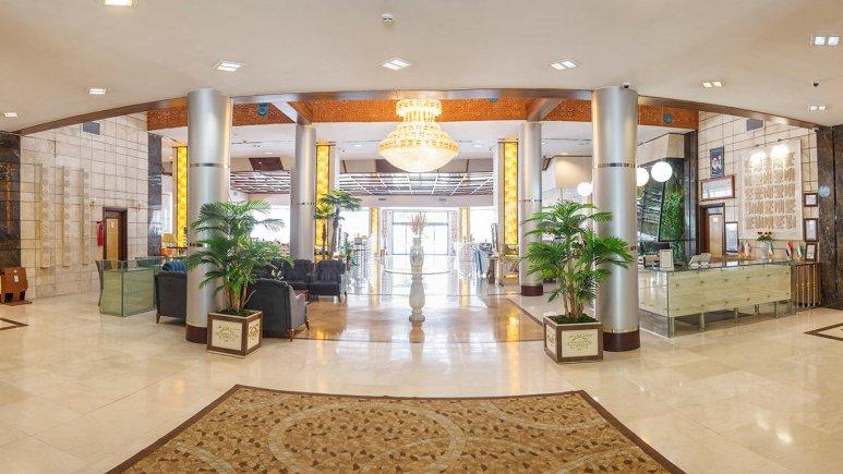 هتل خورشید تابان مشهد لابی