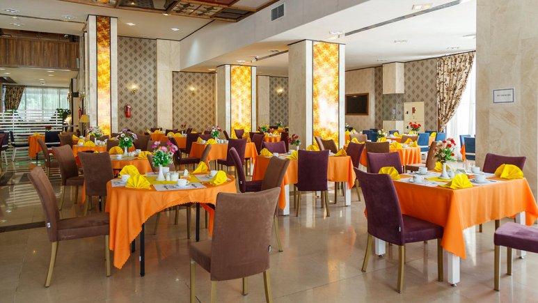 هتل خورشید تابان مشهد رستوران