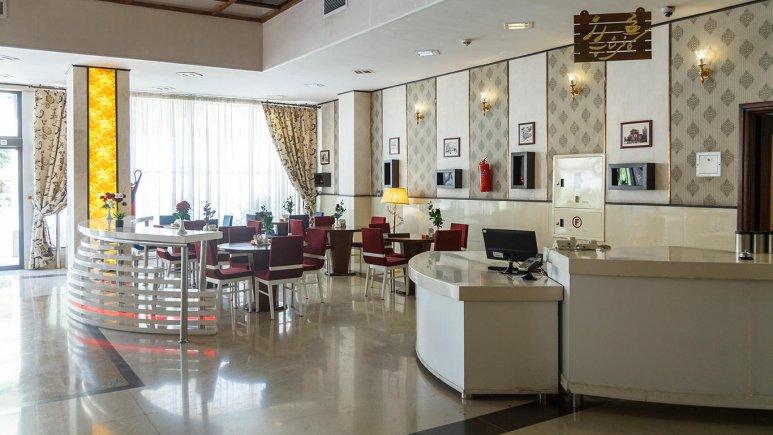هتل خورشید تابان مشهد کافی شاپ