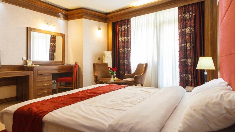 هتل خورشید تابان مشهد اتاق دو تخته دابل 1