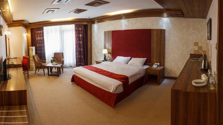 هتل خورشید تابان مشهد اتاق دو تخته دابل 3