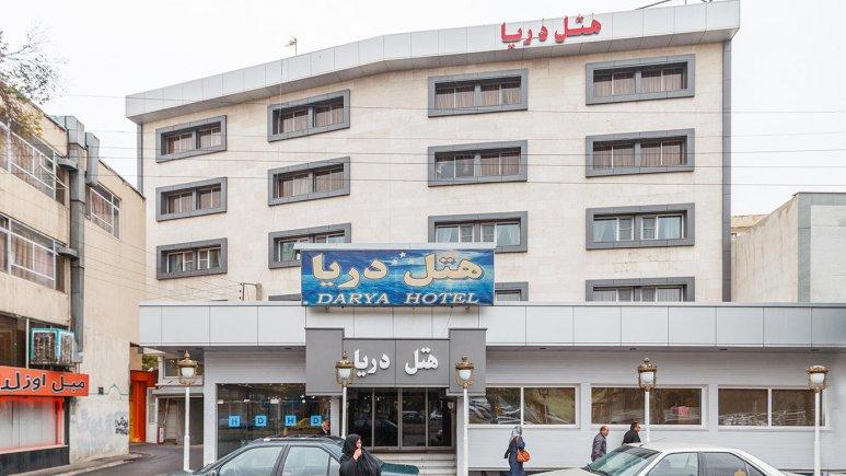 هتل دریا تبریز نمای بیرونی