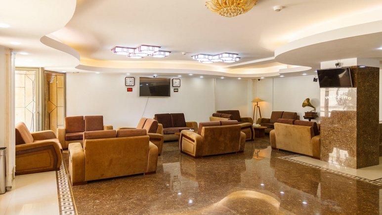 هتل آپارتمان جاده ابریشم تهران لابی 2