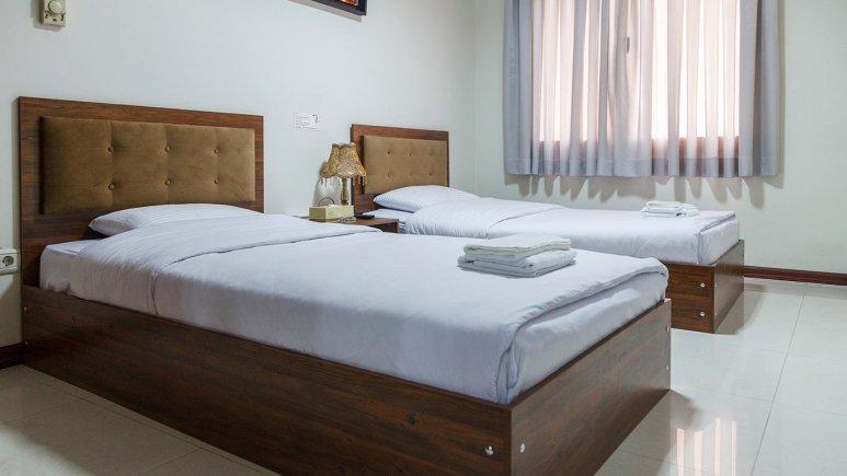 هتل آپارتمان جاده ابریشم تهران اتاق دو تخته رویال 1