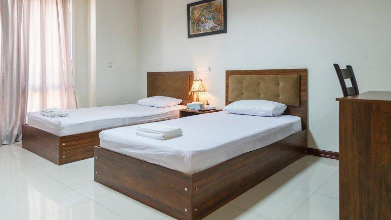 هتل آپارتمان جاده ابریشم تهران اتاق دو تخته رویال 2