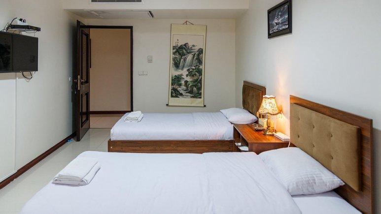 هتل آپارتمان جاده ابریشم تهران اتاق دو تخته رویال 3