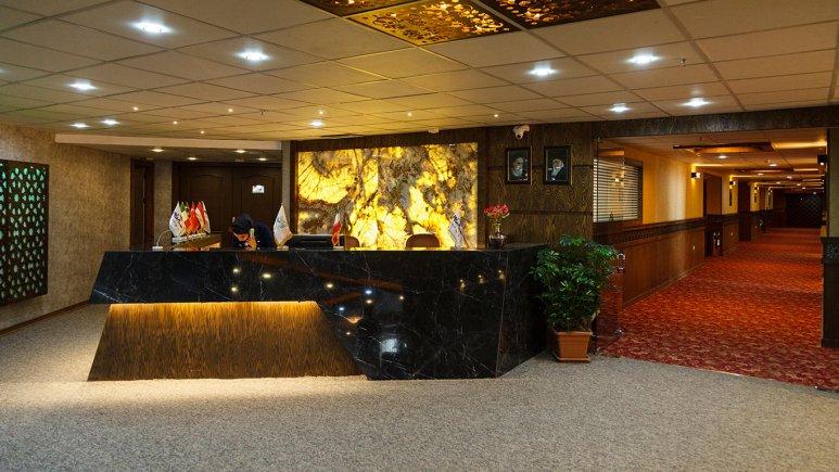 هتل آوین اصفهان پذیرش