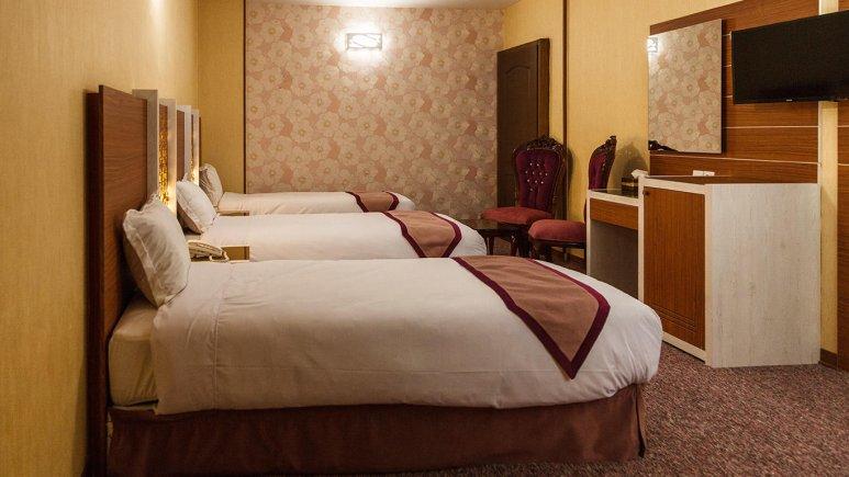 هتل آوین اصفهان اتاق سه تخته