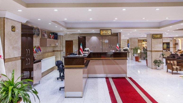 هتل آپارتمان بهبود تبریز پذیرش