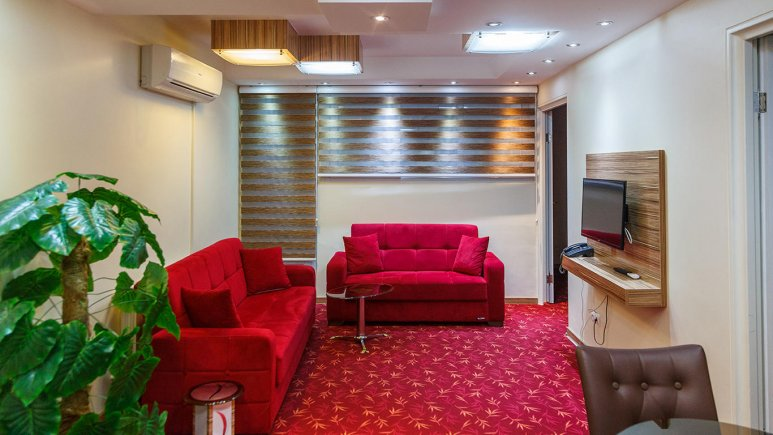 هتل آپارتمان بهبود تبریز فضای داخلی سوئیت ها 2