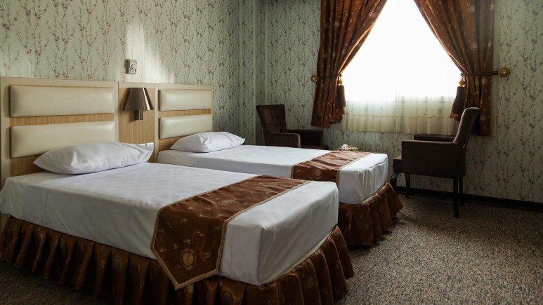 هتل پرشیا 2 تهران اتاق دو تخته تویین