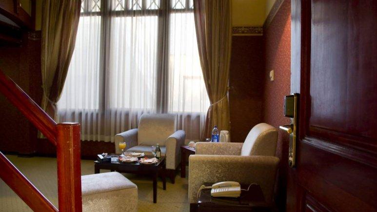 هتل المپیک تهران سوئیت دو تخته دوبلکس 3