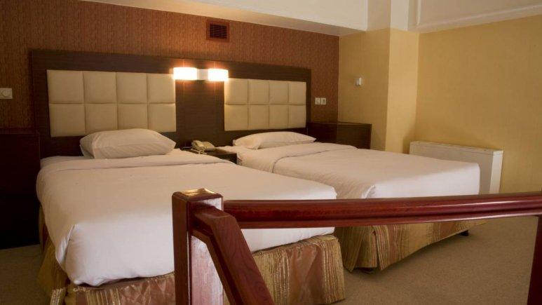 نمایی از اتاق هتل المپیک