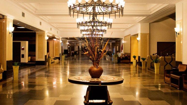 نمایی ازلابی هتل المپیک