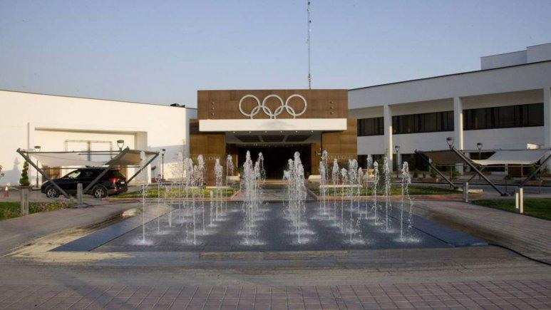 هتل المپیک تهران نمای بیرونی