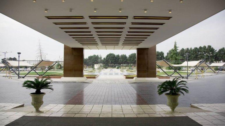 هتل المپیک تهران فضای بیرونی هتل 4
