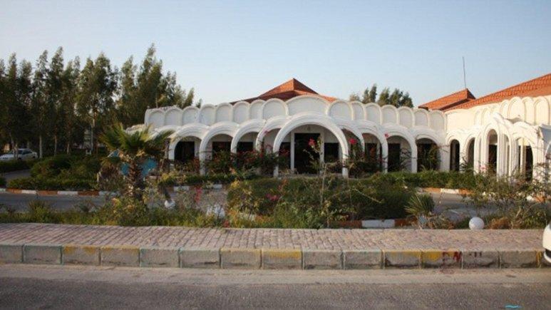 نمای بیرونی هتل اسپادانا کیش