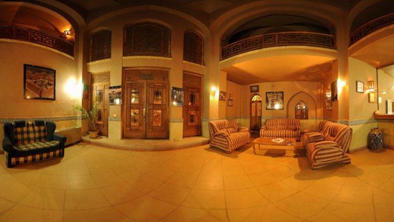 هتل ارگ تاریخی گوگد گلپایگان لابی