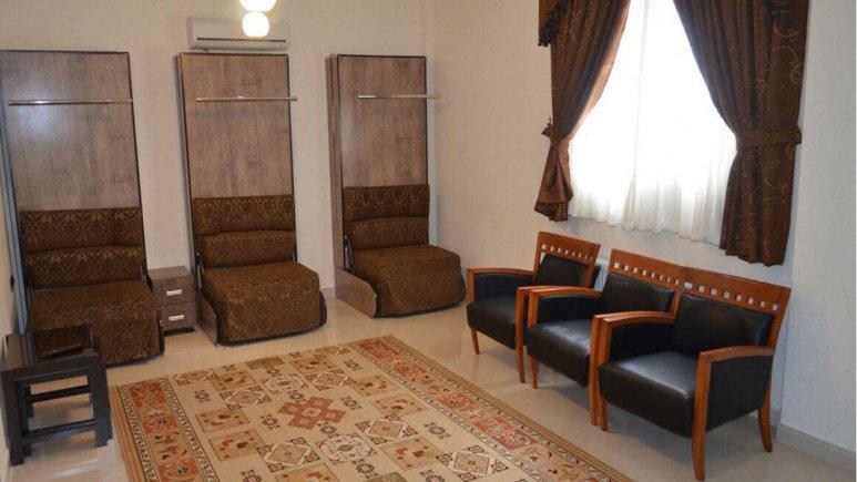 اتاق سه تخته هتل آرسان