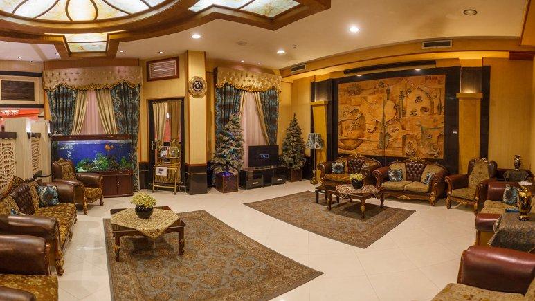 هتل آپارتمان کنعان مشهد لابی
