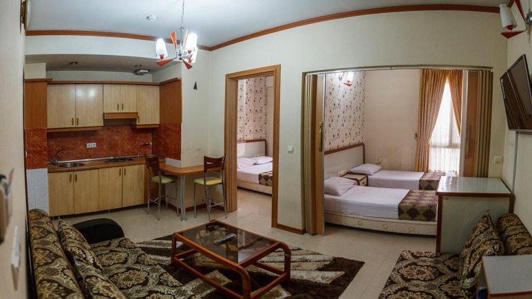 هتل آپارتمان کنعان مشهد آپارتمان یک خوابه چهار تخته