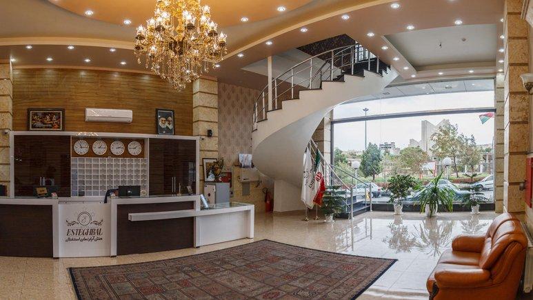 لابی هتل استقبال تبریز