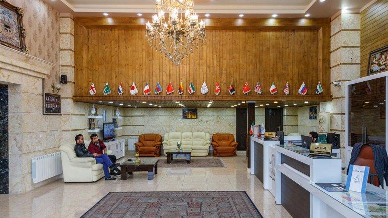 هتل استقبال تبریز لابی 1