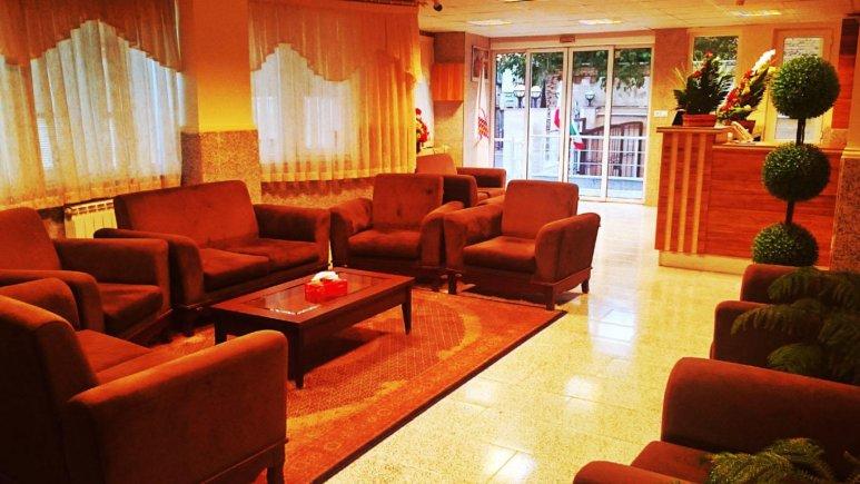 لابی هتل ایران پارک ارومیه