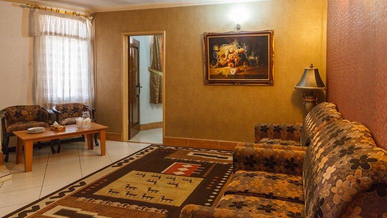 هتل بهارستان مشهد فضای داخلی سوئیت ها