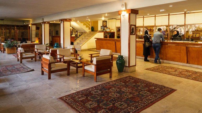 هتل آپارتمان چهل پنجره اصفهان پذیرش