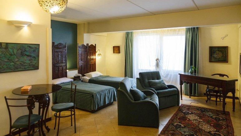 هتل آپارتمان چهل پنجره اصفهان اتاق دو تخته تویین بزرگ 1