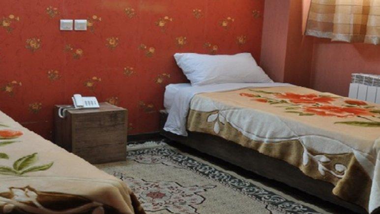 اتاق دو تخته تویین هتل جمشید