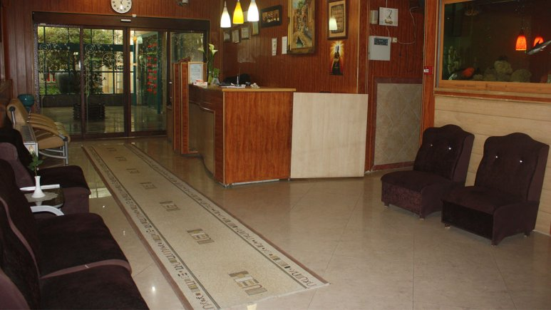 لابی هتل کاوه