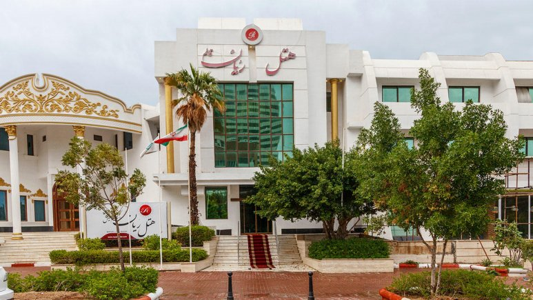 هتل رویان قائم کیش نمای بیرونی
