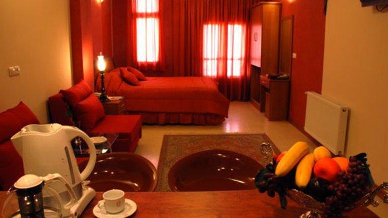 اتاق دو تخته دبل هتل پارتیکان