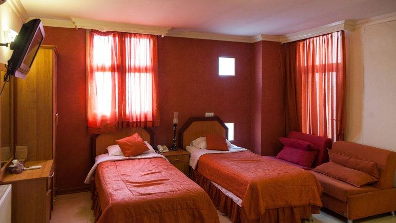 اتاق دو تخته هتل پارتیکان
