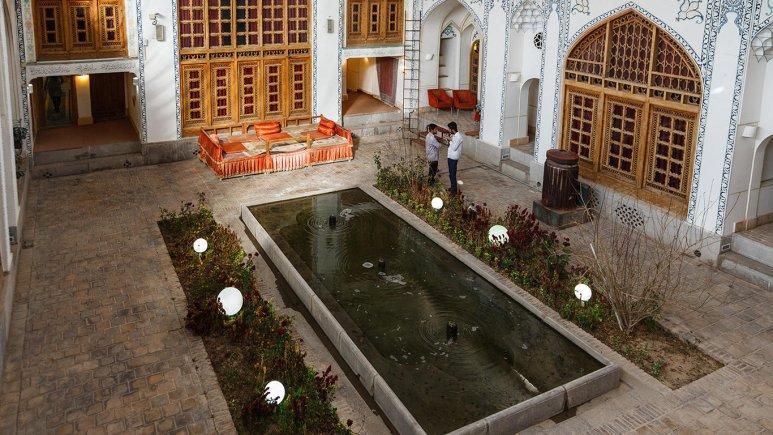 هتل سنتی اصفهان فضای داخلی هتل 3